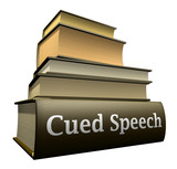 Education books - cued speech poster