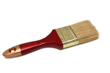 paintbrush isolated on a white