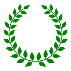 Green Holly Wreath