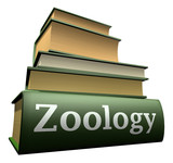 Education books - zoology poster