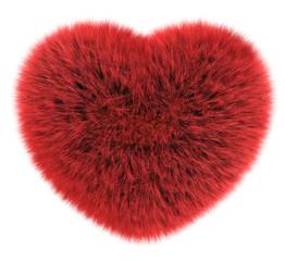 Corazón pelo liso