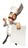 Fototapety Cuisinier