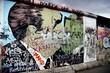 Leinwandbild Motiv berliner mauer