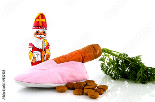 Sinterklaas celebration in Holland