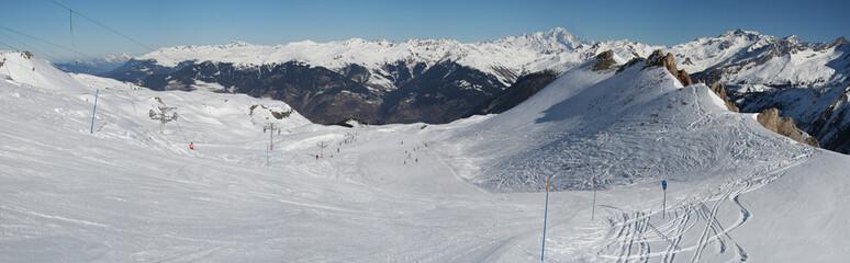 Mont Blanc depuis Courchevel
