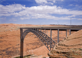 Glen Canyon Dam Bridge, Arizona