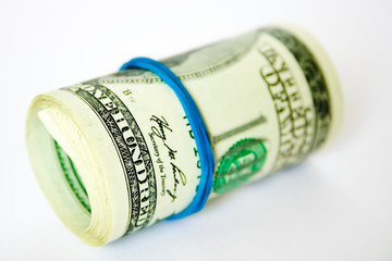 money roll (photo with small depth of field)