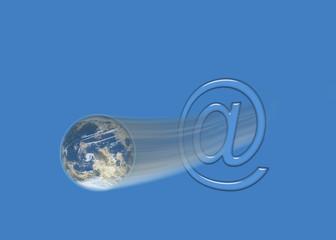 weltweite E-Mails