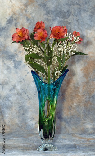 canvas print picture Alstromeria Bouquet