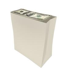 Package of dollars