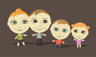 big eyes family