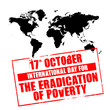 october 17 - international day for the eradication of poverty
