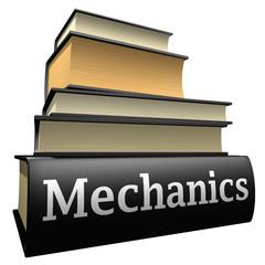 Education books - mechanics