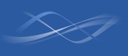 vecteur, courbe vectorielle design et fond bleu - blue curve