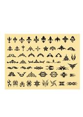 set of various vector symbols