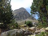 Refuge sur le chemin du Pico Posets poster