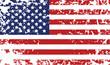 Grunge flag of United States - grunge background