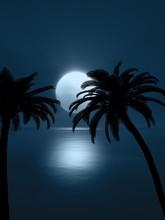 Mond und Plamen