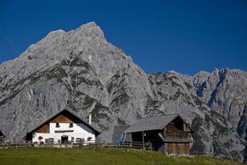 Walderer Alm im Karwendel