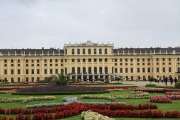 jardin du chateau de schönbrunn