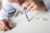 drogue cocaïne cadre travail addiction dépendant malade dangereu poster