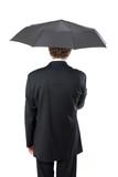 parapluie affaire business protection protéger maché financier c poster