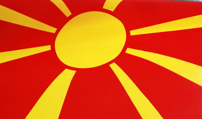 flag od macedonia
