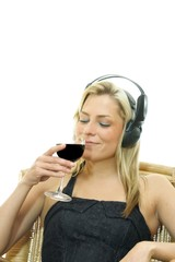 Rotwein und Musik