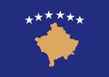 Kosovo flag poster
