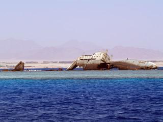 Relitto nel Mar Rosso