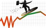 bourse crise poster