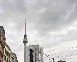 Tour de la télévision, Berlin, Allemagne.