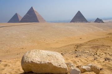 Conjunto monumental de Giza, El Cairo (Egypt)