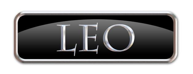 Boton con las letras del signo zodiacal Leo