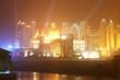 Night view of Hotel Herod in Eilat Red Sea Israel