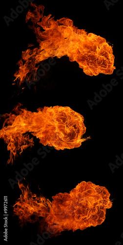 In de dag Vuur / Vlam Fireballs