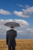 parapluie prévoir précaution pluie climat pluie nuage assurance poster