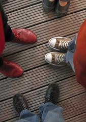 Vier Paar Schuhe
