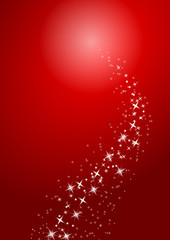 red merry christmas background