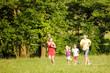 Familie und Sport