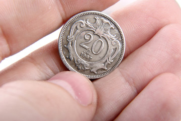 old hungarian coin