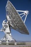 Very Large Array radio telescope antenna poster