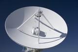 Very Large Array radio telescope parabolic dish poster