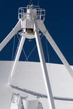 Very Large Array radio telescope detail poster