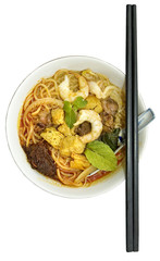 Penang hawker delight – Curry Mee