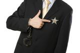 boss patron leader commander sheriff homme affaire business obéi poster