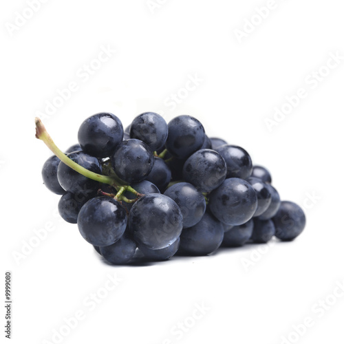 Blue grape cluster
