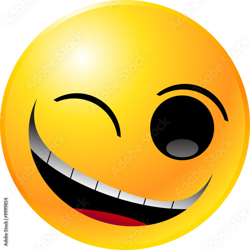 smiley face clip art images. vector clipart illustrations