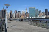 Midtown Manhattan skyline on a Clear Blue day, New York City - 10003838