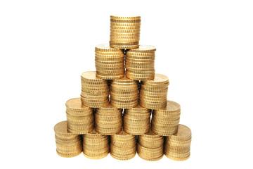 Euro empilés